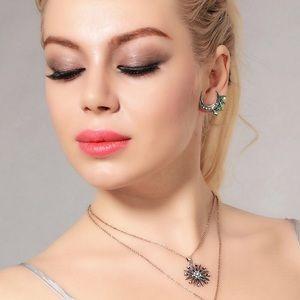 Jewelry - Moon Stud Earrings